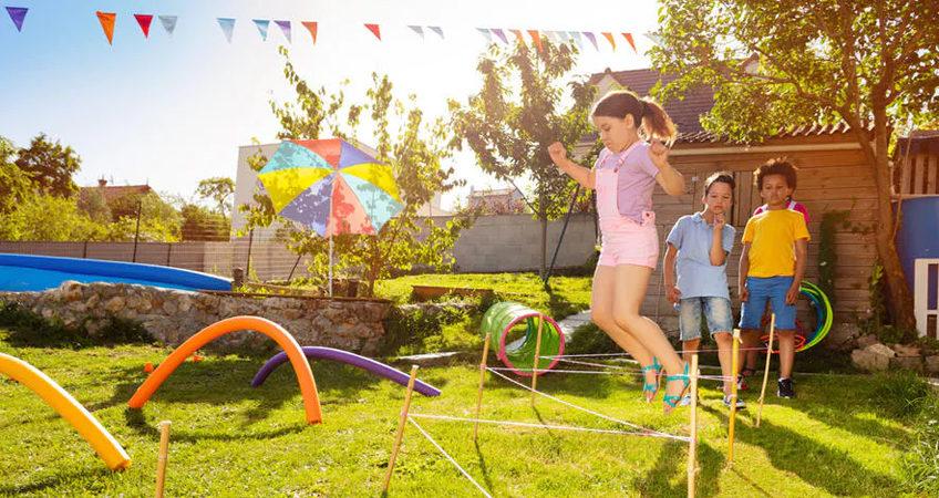 conseils jardin enfants sécurité